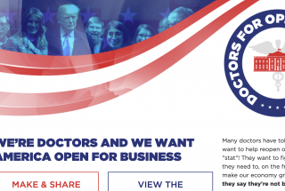 doctors for opening america