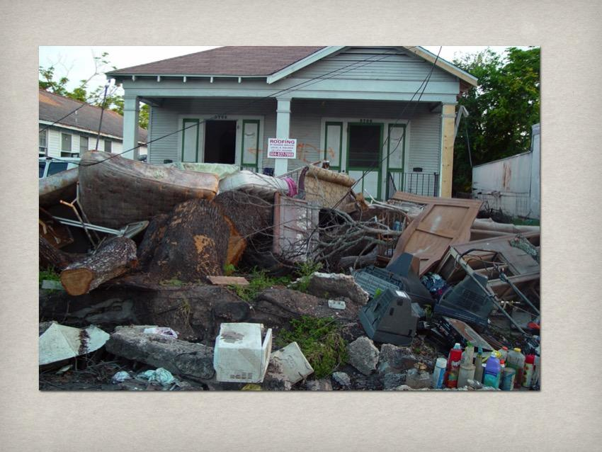 [ppt: new orleans decrepit wrecked house]
